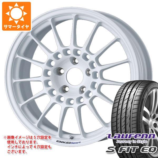 サマータイヤ 225/45R17 94Y XL ラウフェン Sフィット EQ LK01 エンケイ スポーツ RC-T5 8.0-17 タイヤホイール4本セット