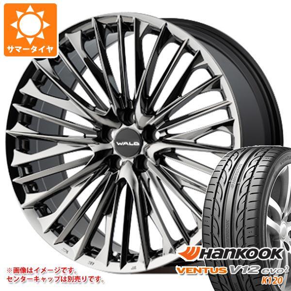 サマータイヤ 245/35R21 96Y XL ハンコック ベンタス V12evo2 K120 ヴァルド ジェニュインライン F-001 アルファード ヴェルファイア専用 9.0-21 タイヤホイール4本セット