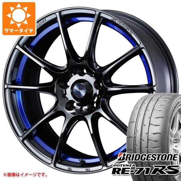 サマータイヤ 245/40R18 97W XL ブリヂストン ポテンザ RE-71RS ウェッズスポーツ SA-25R 8.5-18 タイヤホイール4本セット