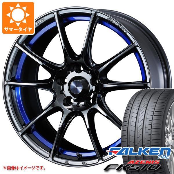 サマータイヤ 245/50R18 104Y XL ファルケン アゼニス FK510 ウェッズスポーツ SA-25R 7.5-18 タイヤホイール4本セット