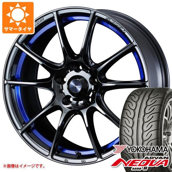 サマータイヤ 225/45R18 91W ヨコハマ アドバン ネオバ AD08 R ウェッズスポーツ SA-25R 7.5-18 タイヤホイール4本セット
