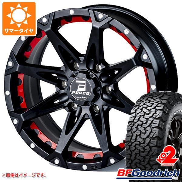 正規品 サマータイヤ 265/70R17 121/118S BFグッドリッチ オールテレーン T/A KO2 ホワイトレター フォース デナリ 8.0-17 タイヤホイール4本セット
