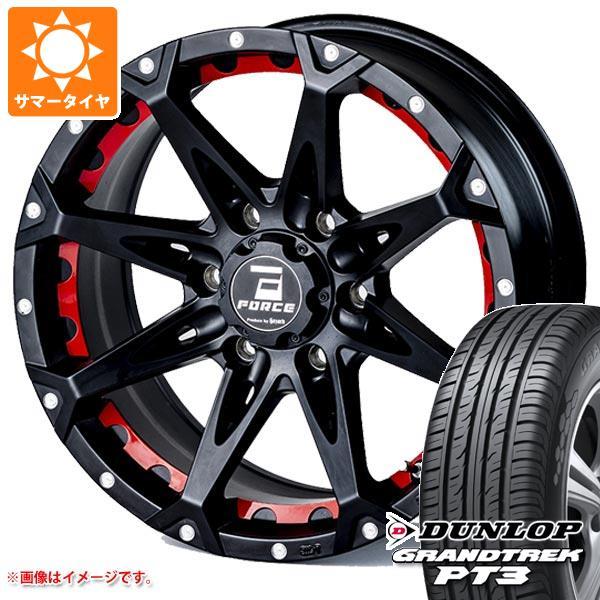サマータイヤ 265/65R17 112H ダンロップ グラントレック PT3 フォース デナリ 8.0-17 タイヤホイール4本セット