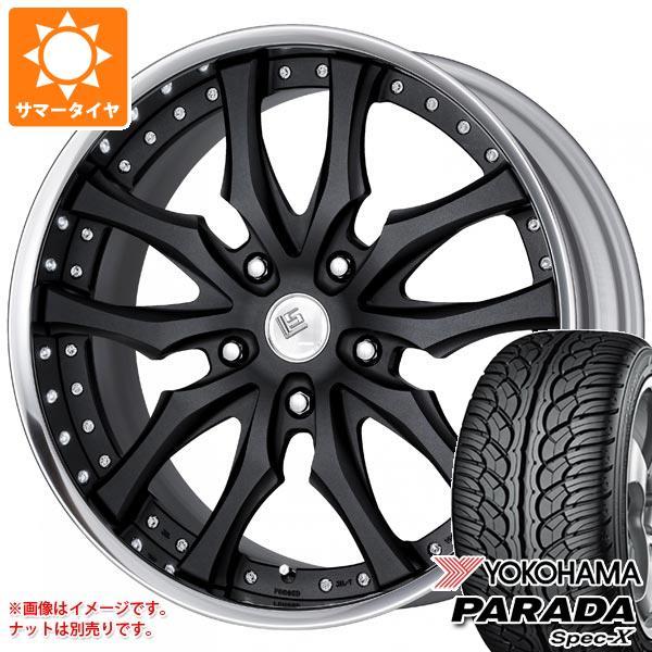ランドクルーザー 200系専用 サマータイヤ ヨコハマ パラダ スペック-X PA02 295/35R24 110V REINF ワーク LS パラゴン SUV 10.0-24 タイヤホイール4本セット