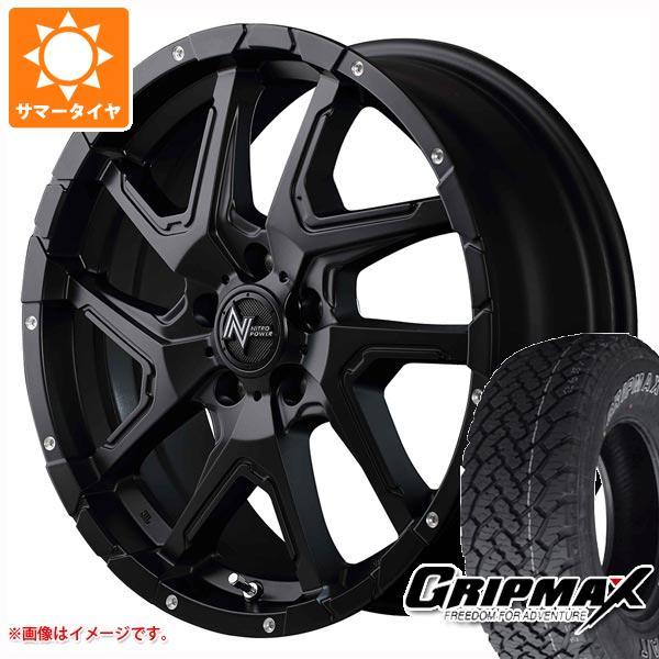 サマータイヤ 235/70R16 106T グリップマックス グリップマックス A/T アウトラインホワイトレター ナイトロパワー デリンジャー 7.0-16 タイヤホイール4本セット
