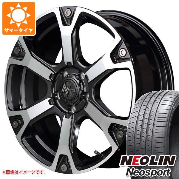 サマータイヤ 215/45R17 91W XL ネオリン ネオスポーツ ナイトロパワー ウォーヘッドS 7.0-17 タイヤホイール4本セット