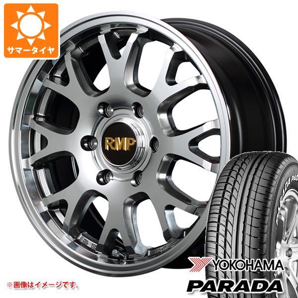 ハイエース 200系専用 サマータイヤ ヨコハマ パラダ PA03 215/60R17C 109/107S ホワイトレター RMP 028FX 6.5-17 タイヤホイール4本セット