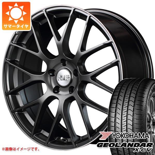 サマータイヤ 235/55R19 105W XL ヨコハマ ジオランダー X-CV G057 RMP 028F 8.0-19 タイヤホイール4本セット