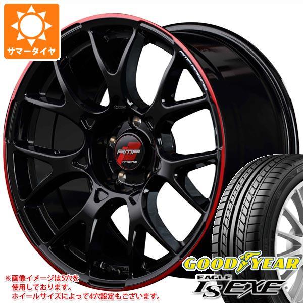 サマータイヤ 215/40R17 87W XL グッドイヤー イーグル LSエグゼ RMP レーシング R27 7.0-17 タイヤホイール4本セット