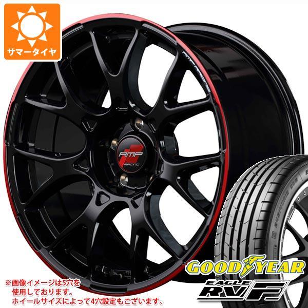 サマータイヤ 215/60R17 100H XL グッドイヤー イーグル RV-F RMP レーシング R27 7.0-17 タイヤホイール4本セット