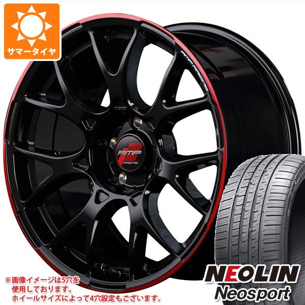 サマータイヤ 225/45R18 95W XL ネオリン ネオスポーツ RMP レーシング R27 8.0-18 タイヤホイール4本セット