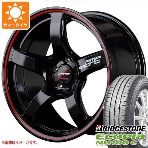 サマータイヤ 165/55R15 75V ブリヂストン エコピア NH100 C RMP レーシング R50 5.0-15 タイヤホイール4本セット