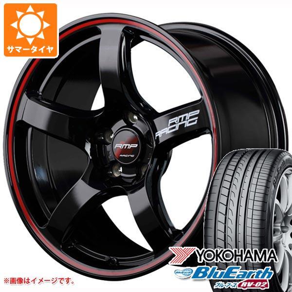 サマータイヤ 215/60R17 96H ヨコハマ ブルーアース RV-02 RMP レーシング R50 7.0-17 タイヤホイール4本セット