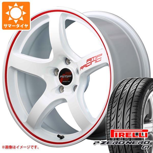 正規品 サマータイヤ 205/45R16 83W ピレリ P ゼロ ネロ GT RMP レーシング R50 6.0-16 タイヤホイール4本セット