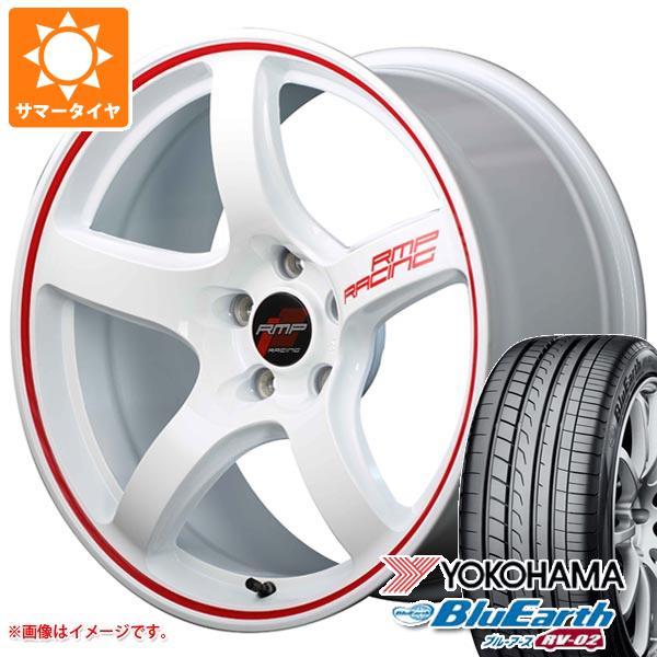 2020年製 サマータイヤ 165/55R15 75V ヨコハマ ブルーアース RV-02CK RMP レーシング R50 5.0-15 タイヤホイール4本セット
