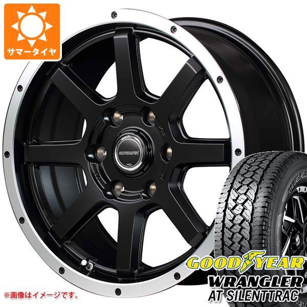 サマータイヤ 265/70R17 116H XL グッドイヤー ラングラー AT サイレントトラック アウトラインホワイトレター ロードマックス WF-8 7.5-17 タイヤホイール4本セット