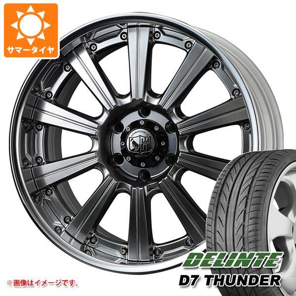 グランエース GDH300系専用 サマータイヤ デリンテ D7 サンダー 245/40ZR20 99W XL スーパースター ピュアスピリッツ サフォーク XC 9.0-20 タイヤホイール4本セット
