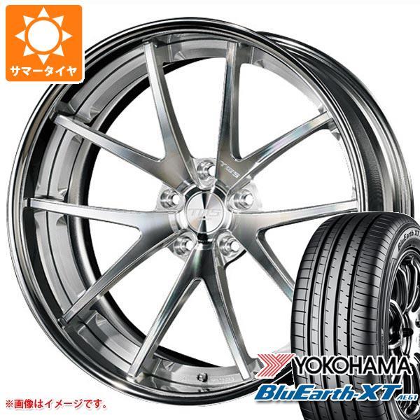 サマータイヤ 225/55R19 99V ヨコハマ ブルーアースXT AE61 2020年4月発売サイズ TWS ライツェント WS05 8.0-19 タイヤホイール4本セット