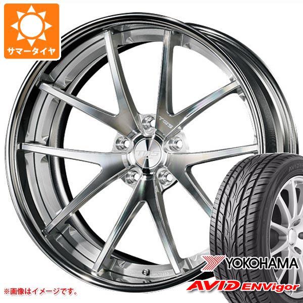 サマータイヤ 245/40R19 98W ヨコハマ エービッド エンビガー S321 TWS ライツェント WS05 8.5-19 タイヤホイール4本セット