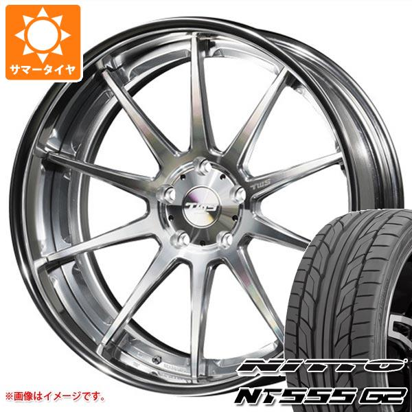 サマータイヤ 235/35R19 91Y XL ニットー NT555 G2 TWS ライツェント WS10 8.0-19 タイヤホイール4本セット