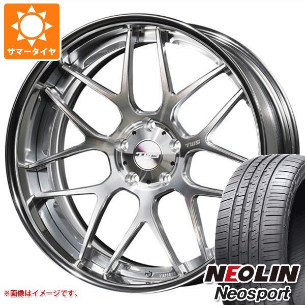 サマータイヤ 225/35R20 93Y XL ネオリン ネオスポーツ TWS ライツェント WX07 8.0-20 タイヤホイール4本セット