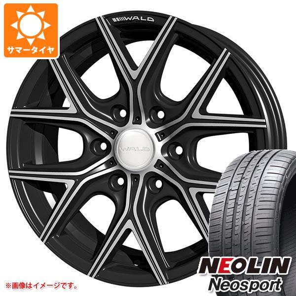 ハイエース 200系専用 サマータイヤ ネオリン ネオスポーツ 225/35R20 93Y XL ヴァルド イリマ L11-C 8.0-20 タイヤホイール4本セット