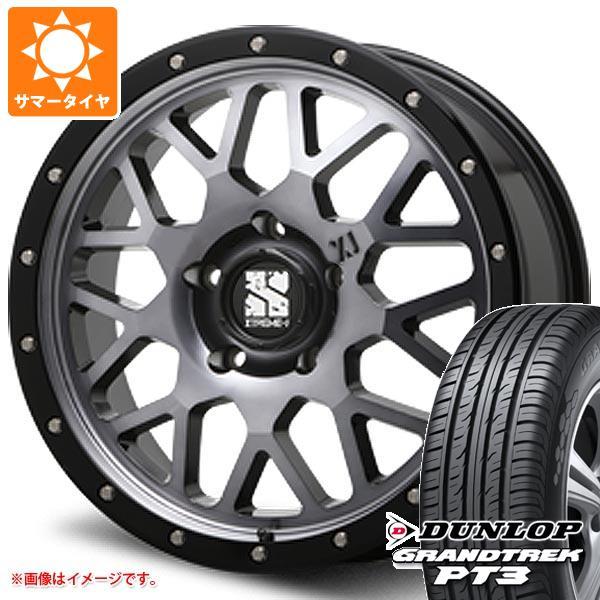 ランドクルーザー 200系専用 サマータイヤ ダンロップ グラントレック PT3 285/50R20 112V エクストリームJ XJ04 GS 8.5-20 タイヤホイール4本セット