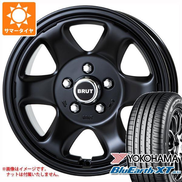 サマータイヤ 215/70R16 100H ヨコハマ ブルーアースXT AE61 ブルート BR-44 MB デリカD:5用 6.5-16 タイヤホイール4本セット