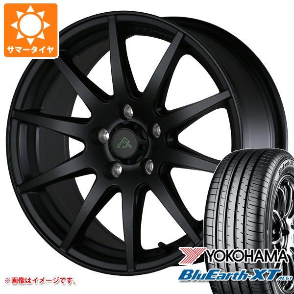 サマータイヤ 225/55R17 97W ヨコハマ ブルーアースXT AE61 ドゥオール フェニーチェ クロス XC10 MB 7.5-17 タイヤホイール4本セット