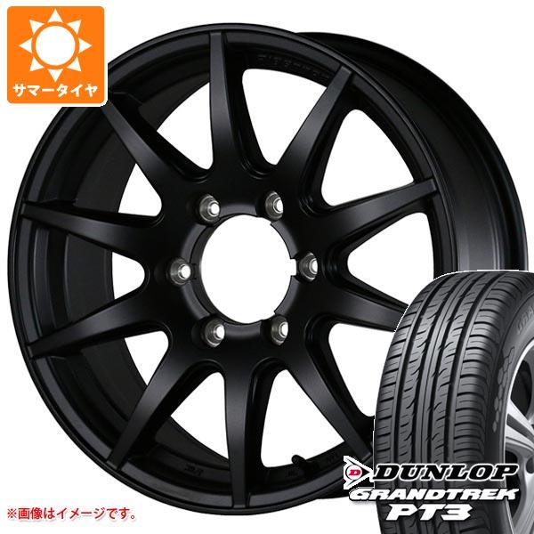 サマータイヤ 265/70R17 115S ダンロップ グラントレック PT3 ドゥオール フェニーチェ クロス XC10 MB 8.0-17 タイヤホイール4本セット
