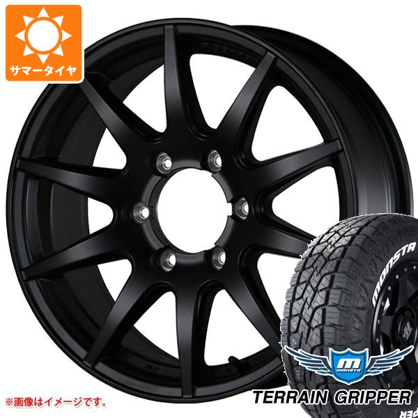 サマータイヤ 285/70R17 121/118R モンスタ テレーングリッパー ホワイトレター ドゥオール フェニーチェ クロス XC10 8.0-17 タイヤホイール4本セット