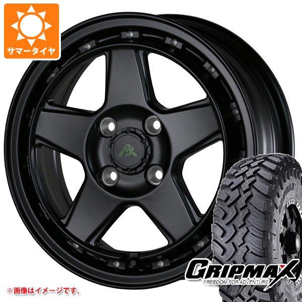 サマータイヤ 185R14 102/100Q グリップマックス マッドレイジ M/T ブラックサイドウォール ドゥオール フェニーチェ クロス XC5 5.0-14 タイヤホイール4本セット