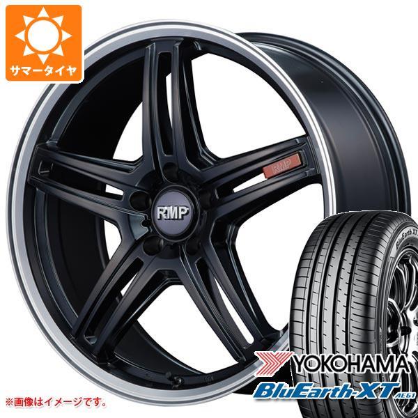 サマータイヤ 215/60R17 96H ヨコハマ ブルーアースXT AE61 RMP 520F 7.0-17 タイヤホイール4本セット