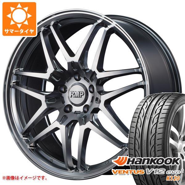 サマータイヤ 215/45R18 93Y XL ハンコック ベンタス V12evo2 K120 RMP 720F 7.0-18 タイヤホイール4本セット