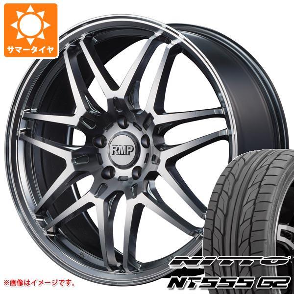 サマータイヤ 215/45R18 93Y XL ニットー NT555 G2 RMP 720F 7.0-18 タイヤホイール4本セット