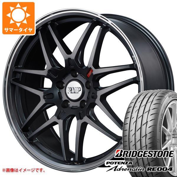 サマータイヤ 245/40R19 98W XL ブリヂストン ポテンザ アドレナリン RE004 RMP 720F 8.0-19 タイヤホイール4本セット