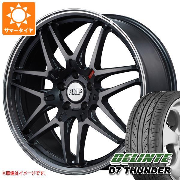サマータイヤ 225/45R18 95W XL デリンテ D7 サンダー RMP 720F 8.0-18 タイヤホイール4本セット