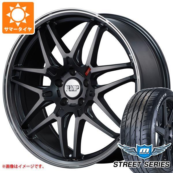 サマータイヤ 225/40R18 92V XL モンスタ ストリートシリーズ ホワイトレター RMP 720F 7.0-18 タイヤホイール4本セット