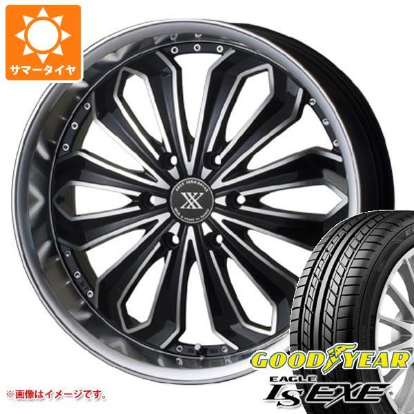 ハイエース 200系専用 サマータイヤ グッドイヤー イーグル LSエグゼ 225/35R20 90W XL ゼロブレイクX 8.0-20 タイヤホイール4本セット