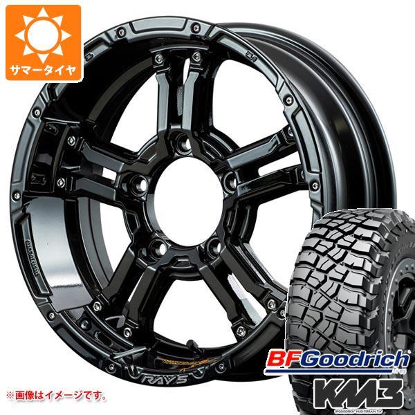 ジムニー JB64W専用 サマータイヤ BFグッドリッチ マッドテレーン T/A KM3 LT225/75R16 115/112Q レイズ デイトナ FDX-J コレクション 5.5-16 タイヤホイール4本セット