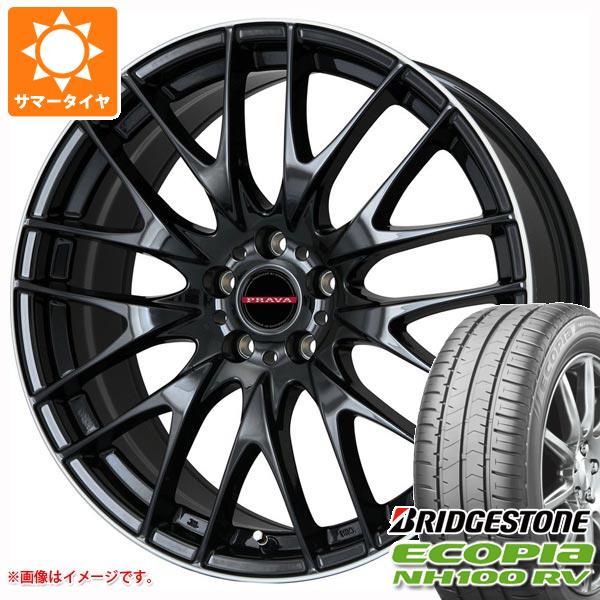 人気デザイナー サマータイヤ 225/55R17 101V XL ブリヂストン エコピア NH100 RV レイシーン プラバ 9M 7.0-17 タイヤホイール4本セット, カデンショップ f2abc4cb