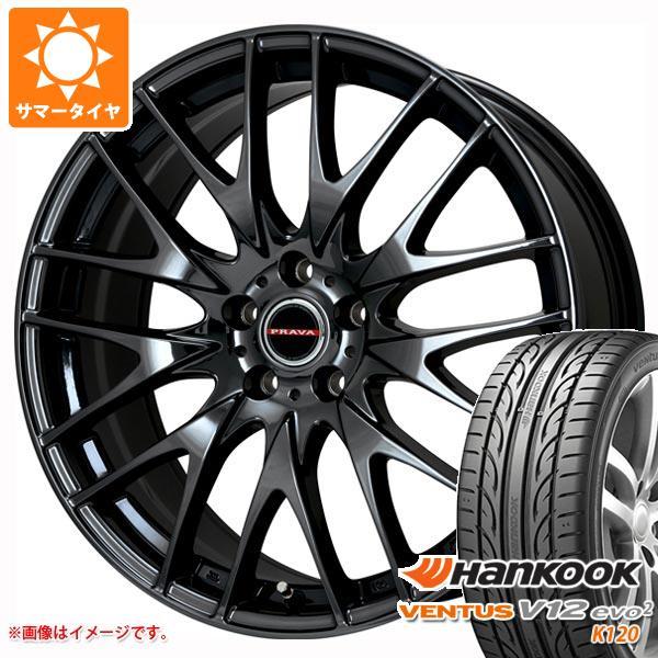超大特価 サマータイヤ 245/35R20 95Y XL ハンコック ベンタス V12evo2 K120 レイシーン プラバ 9M 8.5-20 タイヤホイール4本セット, オタチョウ a8084a15