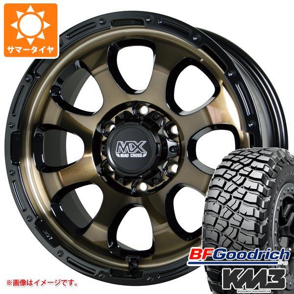 サマータイヤ 225/75R16 115/112Q BFグッドリッチ マッドテレーン T/A KM3 マッドクロスグレイス BRC/BK 7.0-16 タイヤホイール4本セット