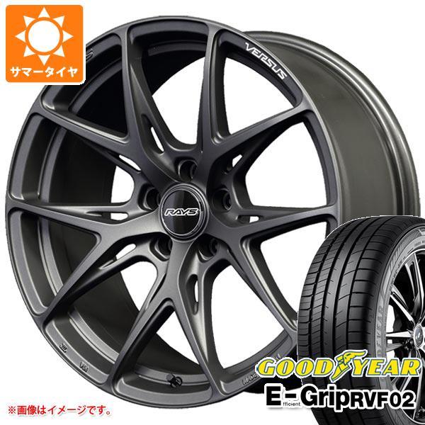 日本最大の サマータイヤ 245/45R20 103W 245/45R20 XL XL グッドイヤー 103W エフィシエントグリップ RVF02 レイズ ベルサス VV21S 8.5-20 タイヤホイール4本セット, サクライ貿易:b8761db9 --- fotomat24.com
