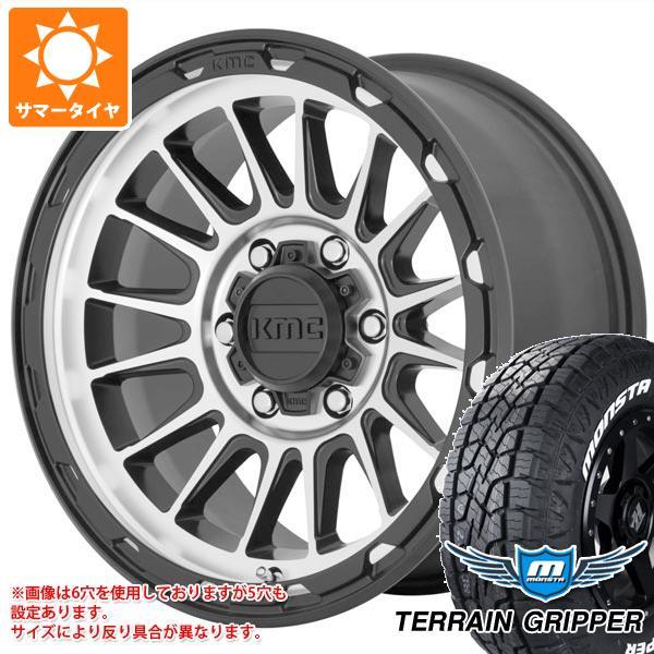 大きな取引 サマータイヤ 8.0-17 サマータイヤ 265/70R17 115T モンスタ タイヤホイール4本セット テレーングリッパー ホワイトレター KMC KM542 インパクト 8.0-17 タイヤホイール4本セット, 有名ブランド:f2a2b7fb --- kventurepartners.sakura.ne.jp