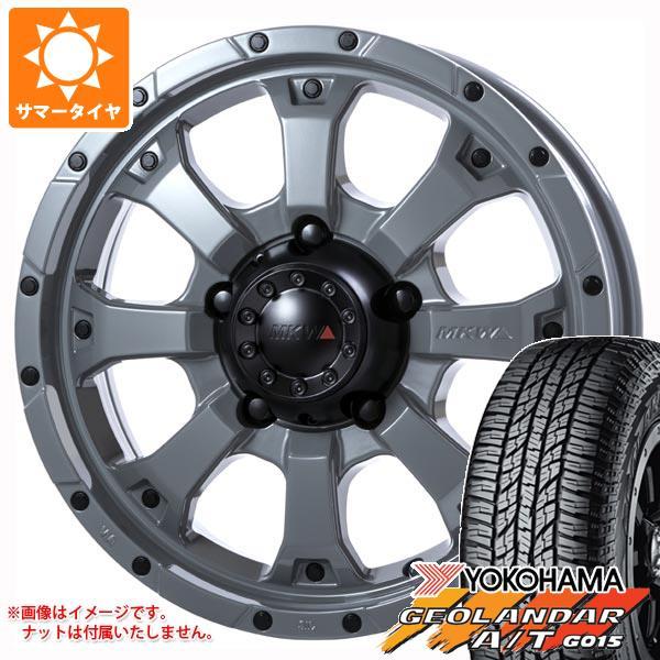 最高品質の ジムニー MKW JB64W専用 サマータイヤ ヨコハマ ジオランダー A/T G015 G015 215 ヨコハマ/70R16 100H ブラックレター MKW MK-46 5.5-16 タイヤホイール4本セット, ネイルショップ GG:7f94943d --- risesuper30.in