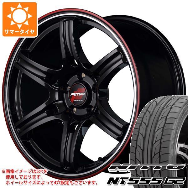 【在庫あり】 サマータイヤ 215/50R17 95W XL NT555 ニットー NT555 RMP G2 ニットー RMP レーシング R60 7.0-17 タイヤホイール4本セット, オシミズマチ:d32f1bae --- yatenderrao.com