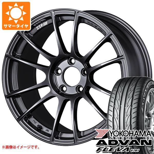 日本製 サマータイヤ 225 アドバン/45R18 95W XL ヨコハマ アドバン 225/45R18 フレバ V701 8.5-18 SSR GTX04 8.5-18 タイヤホイール4本セット, 蘇州林:e94326cb --- mibanderarestaurantnj.com