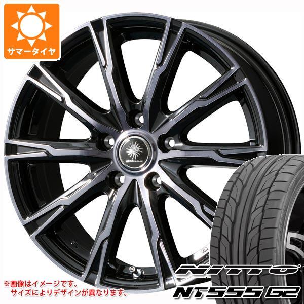 高級素材使用ブランド サマータイヤ 245 ニットー/45R18 8.0-18 100Y XL 100Y ニットー NT555 G2 ディルーチェ DX10 8.0-18 タイヤホイール4本セット, ミーナ:2d69cd79 --- atakoyescortlar.com