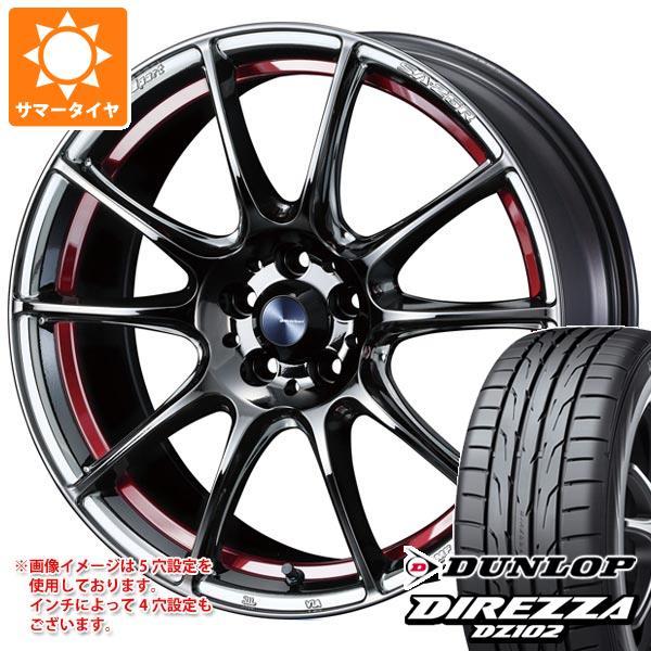超格安価格 サマータイヤ 235/40R18 95W XL XL ダンロップ SA-25R ディレッツァ ディレッツァ DZ102 ウェッズスポーツ SA-25R 8.0-18 タイヤホイール4本セット, アイヒーリング:4cd494aa --- kalpanafoundation.in